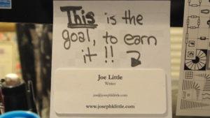 ... to earn it